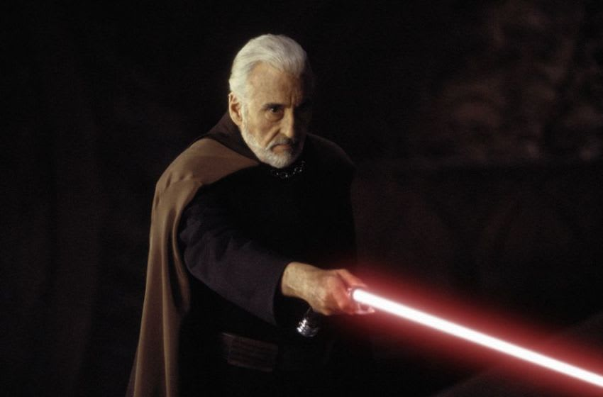 Star Wars: Episode II - Attack of the Clones (2002).. Count Dooku (Christopher Lee).. Lucasfilm Entertainment Company Ltd., All Rights Reserved