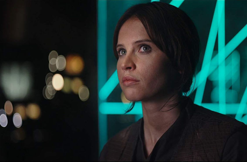Photo: Felicity Jones is Jyn Erso in ROGUE ONE: A STAR WARS STORY © Lucasfilm Ltd. & TM. All Rights Reserved.
