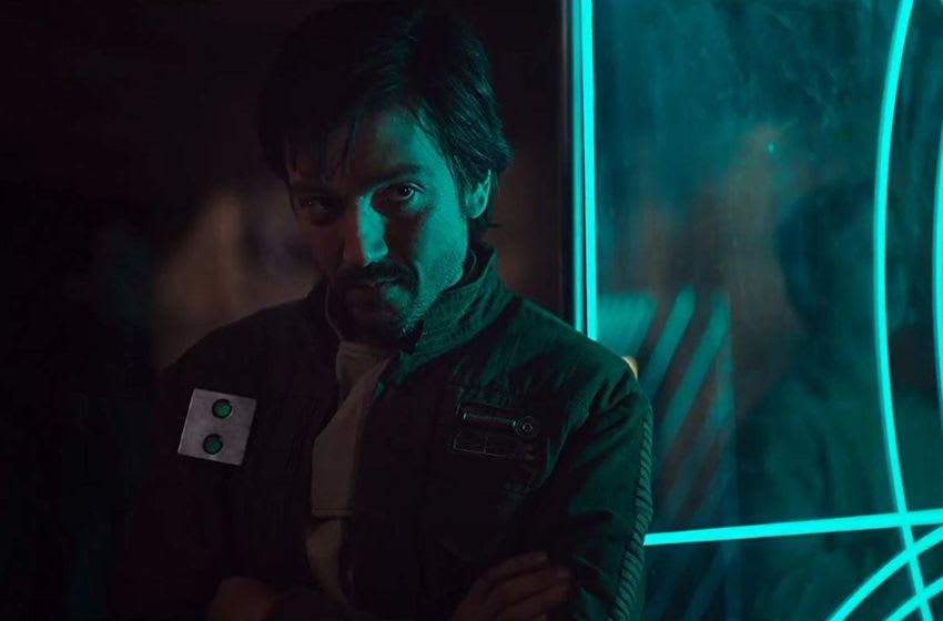 Photo: Diego Luna is Cassian Andor in ROGUE ONE: A STAR WARS STORY © Lucasfilm Ltd. & TM. All Rights Reserved.