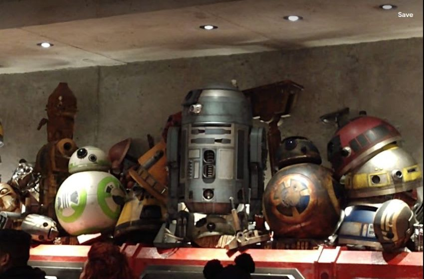 Photo: Galaxy's Edge Droid Depot in Walt Disney World.. Image by Jennifer Renson-Chiappetta