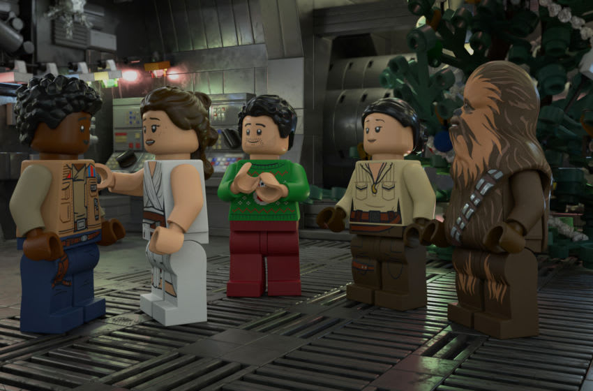 LEGO Star Wars Holiday Special. Image Courtesy Disney+