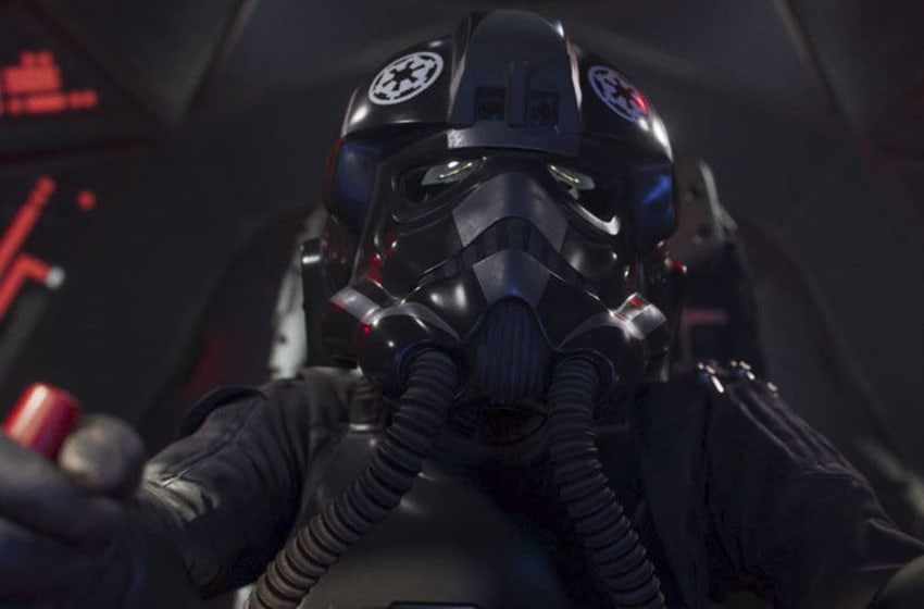 Star Wars: Squadrons Varko Grey in Hunted clip. Photo: EA/Star Wars.