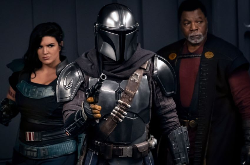 Pedro Pascal is the Mandalorian and Nick Nolte is Kuil in THE MANDALORIAN, exclusively on Disney+/