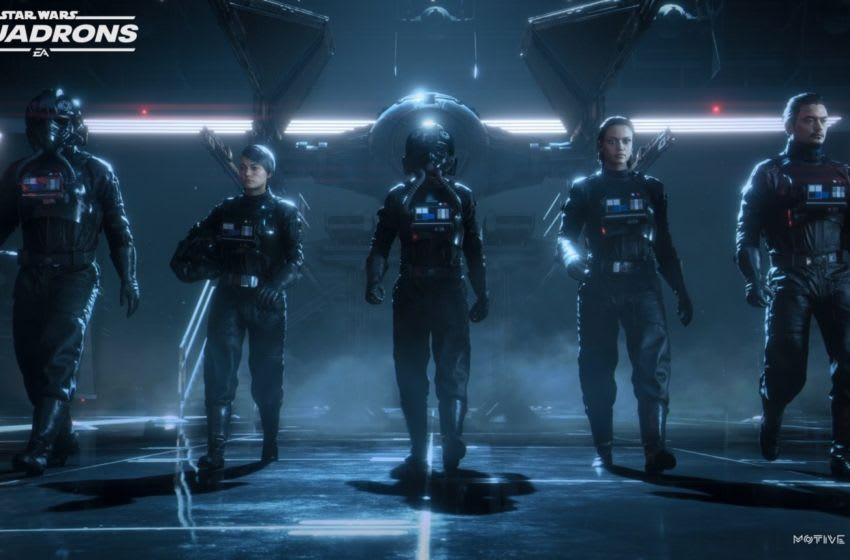 Screenshot from Star Wars: Squadrons (2020). Photo via EA/Star Wars.