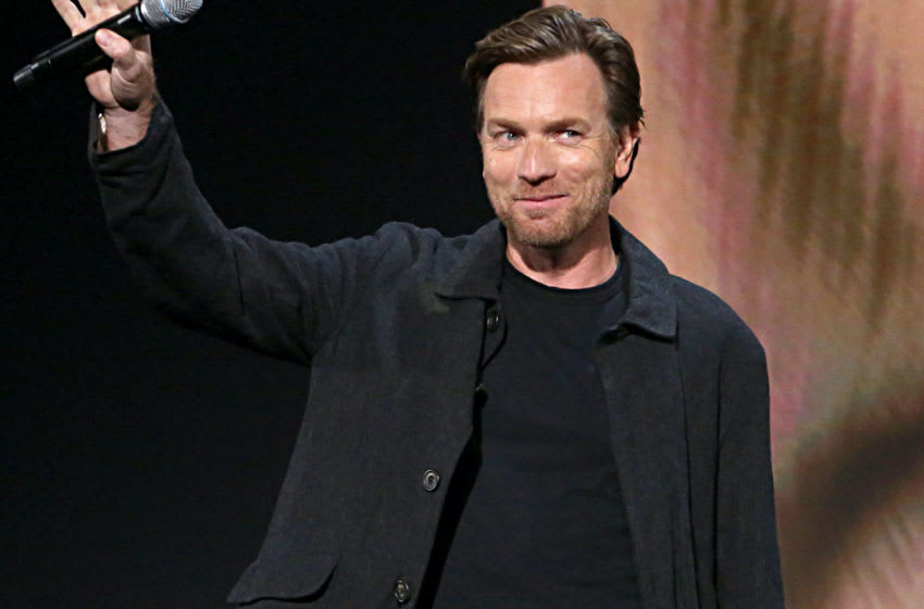 ANAHEIM, CALIFORNIA - AUGUST 23: Ewan McGregor of 'Untitled Obi-Wan Kenobi Series' took part today in the Disney+ Showcase at Disney's D23 EXPO 2019 in Anaheim, Calif. 'Untitled Obi-Wan Kenobi Series' will stream exclusively on Disney+, which launches November 12. (Photo by Jesse Grant/Getty Images for Disney)