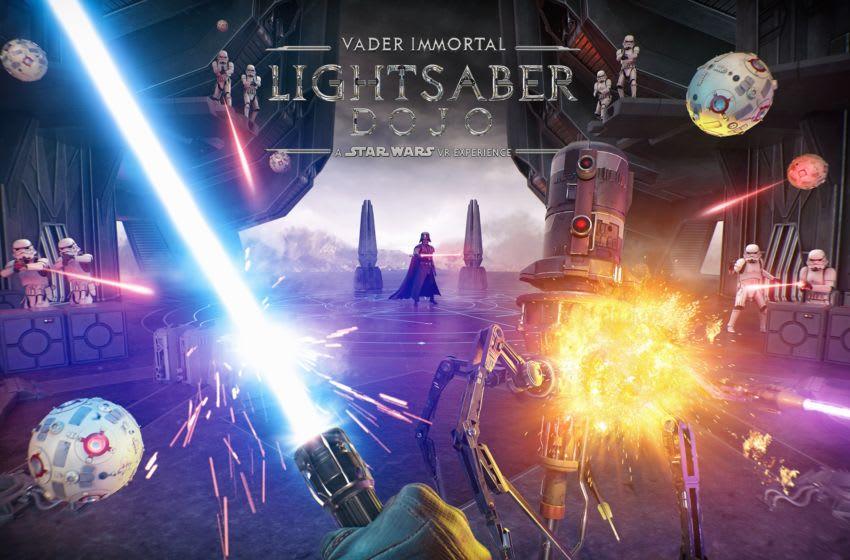 Vader Immortal Lightsaber Dojo key art. Photo: ILMxLAB.