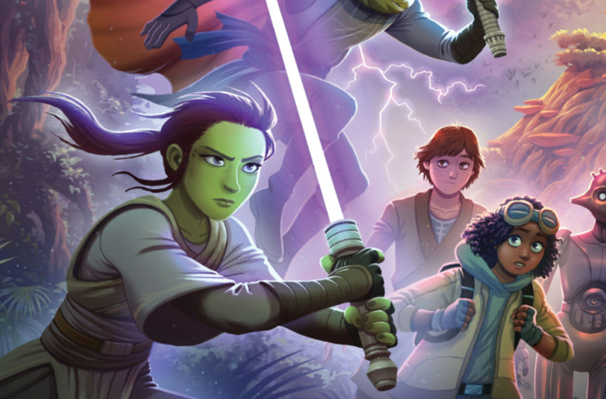 Photo: Star Wars: The High Republic: A Test of Courage - Book Cover.. Image Courtesy Disney Publishing Worldwide