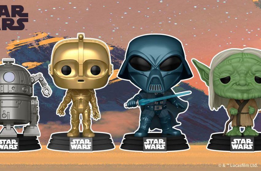 Star Wars concept art Funko Pops!. Photo courtesy of Funko.