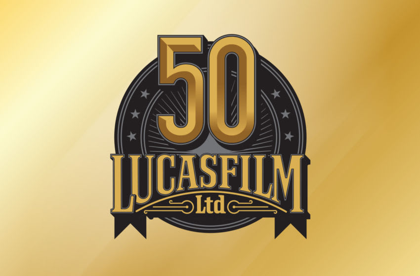 Lucasfilm Ltd. 50th anniversary logo. Photo courtesy of Lucasfilm.