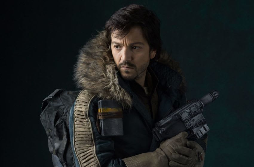 Captain Cassian Andor (Diego Luna) commands respect from his Rebel troops with his ability to keep a cool head under fire. Photo: Lucasfilm.