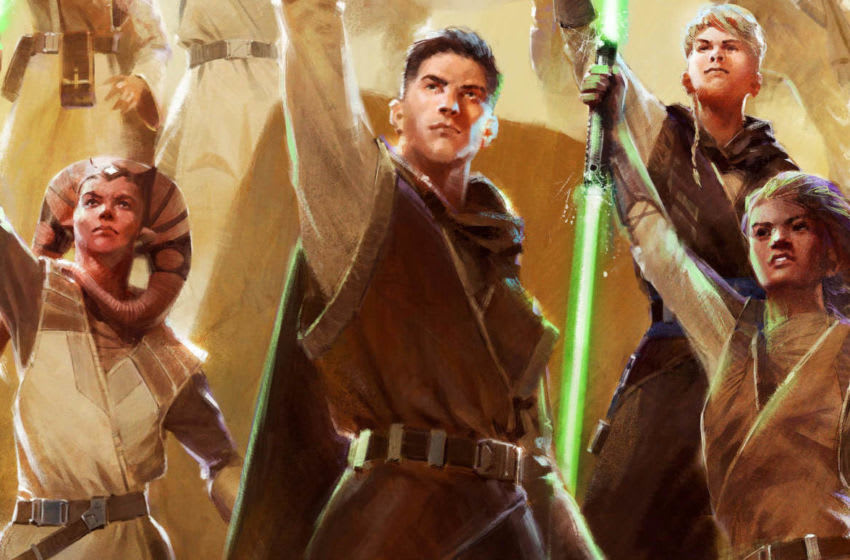 Photo: Star Wars: The High Republic Jedi Concept Art.. Image Courtesy Disney Publishing Worldwide