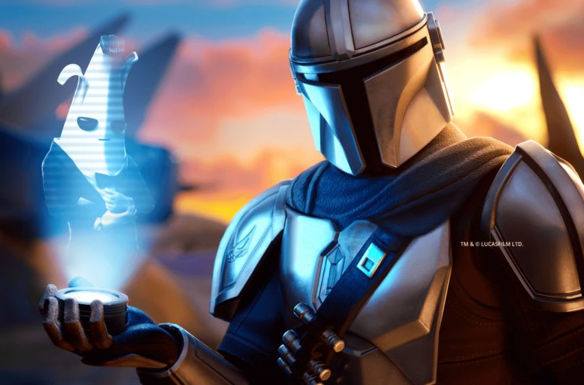 The Mandalorian Limited Time Mode in Fortnite. Photo: Epic Games.