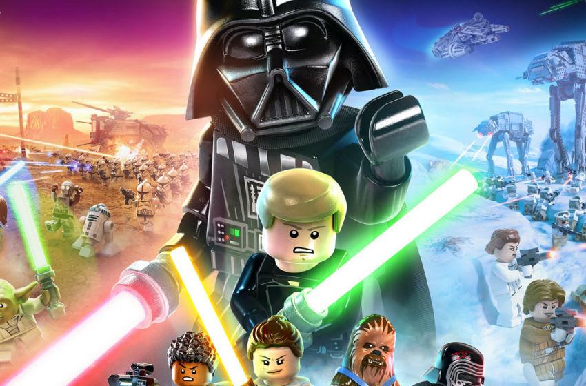 Cover art: Lego Star Wars: The Skywalker Saga. Photo: Lucasfilm/TT Games.