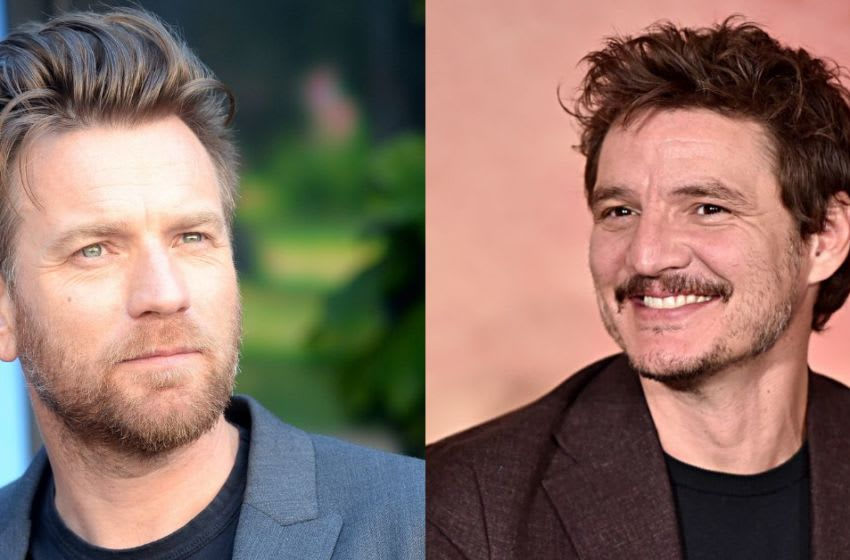 Ewan McGregor and Pedro Pascal. Composite: Dork Side of the Force.