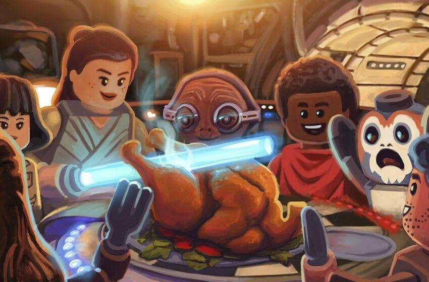LEGO Star Wars Holiday Special concept art. Photo: StarWars.com.