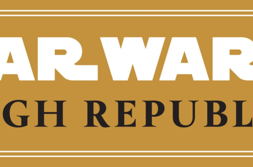 Photo: Star Wars: The High Republic - Logo.. Image Courtesy Disney Publishing Worldwide
