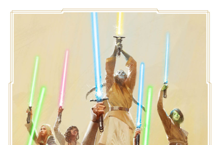 Photo: Star Wars: The High Republic Jedi Concept Art.. Image Courtesy Disney Publishing Worldwide