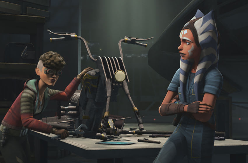 """Photo: Star Wars: The Clone Wars Episode 705 """"Gone With a Trace"""" .. Image Courtesy Disney+"""