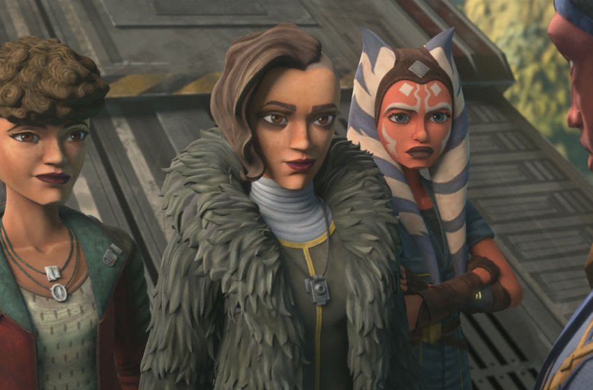 "Photo: Star Wars: The Clone Wars Episode 706 ""Deal No Deal"" .. Image Courtesy Disney+"