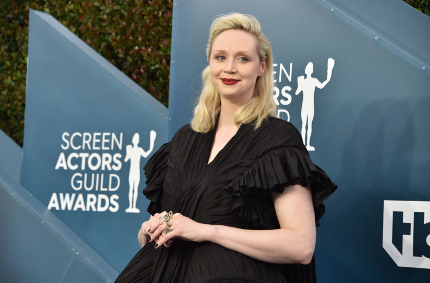 LOS ANGELES, CALIFORNIA - JANUARY 19: Gwendoline Christie attends the 26th Annual Screen ActorsGuild Awards at The Shrine Auditorium on January 19, 2020 in Los Angeles, California. 721430 (Photo by Gregg DeGuire/Getty Images for Turner)