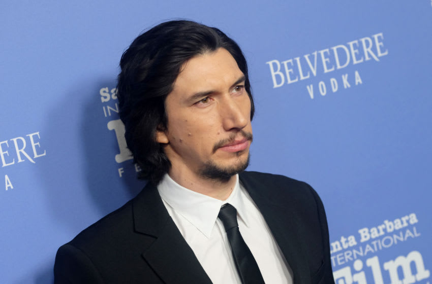 SANTA BARBARA, CALIFORNIA - JANUARY 17: Adam Driver attends the Outstanding Performers Of The Year Award Honoring Scarlett Johansson And Adam Driver Presented by Belvedere Vodka during the 35th Santa Barbara International Film Festival at Arlington Theatreon January 17, 2020 in Santa Barbara, California. (Photo by Matthew Simmons/Getty Images for SBIFF)