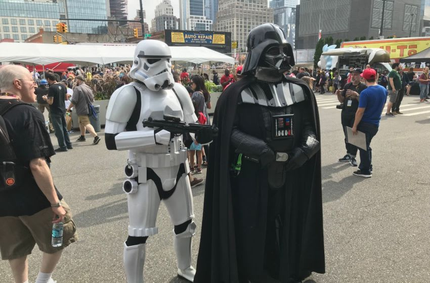 Scenes from the first day of New York Comic Con at the Javits Convention Center in New York City on Thursday, Oct. 4, 2018 008nycccosplay2018