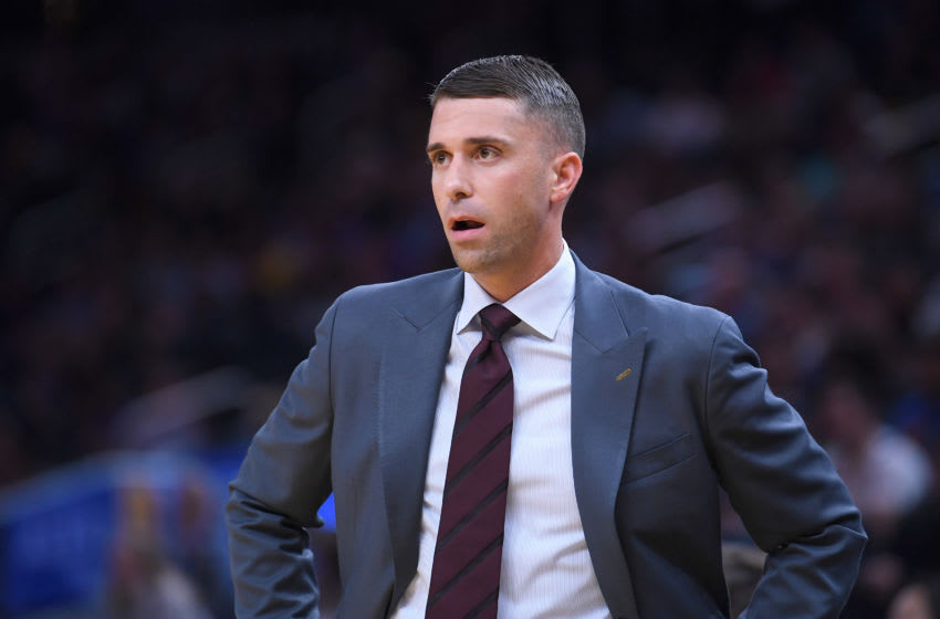 SAN FRANCISCO, CALIFORNIA - OCTOBER 10: Head coach Ryan Saunders of the Minnesota Timberwolves. (Photo by Thearon W. Henderson/Getty Images)