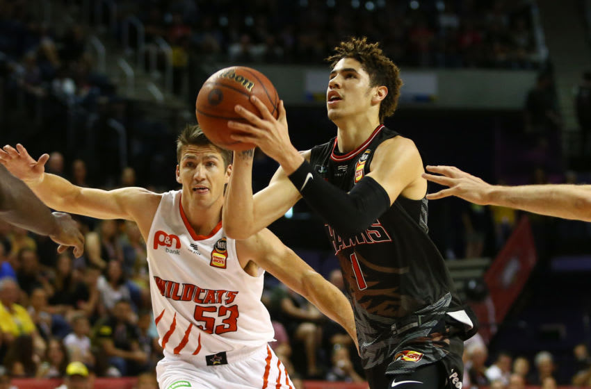 LaMelo Ball of the NBL Hawks is an option for the Minnesota Timberwolves at No. 1. (Photo by Mark Nolan/Getty Images)