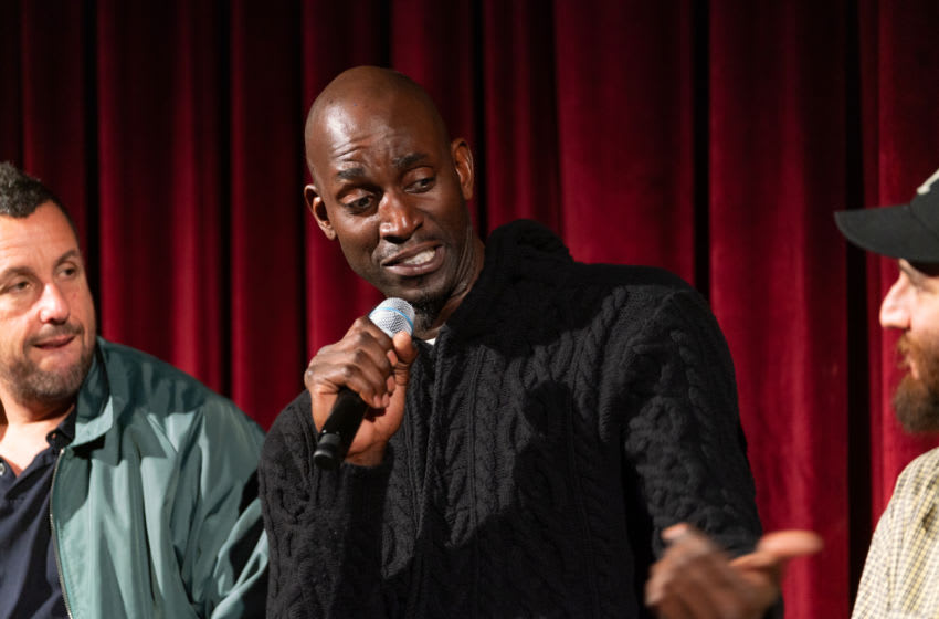 NEW YORK, NEW YORK - DECEMBER 03: Kevin Garnett attends The Academy Of Motion Picture Arts & Sciences Hosts An Official Academy Screening Of UNCUT GEMS. (Photo by Mark Sagliocco/Getty Images for The Academy of Motion Picture Arts & Sciences )