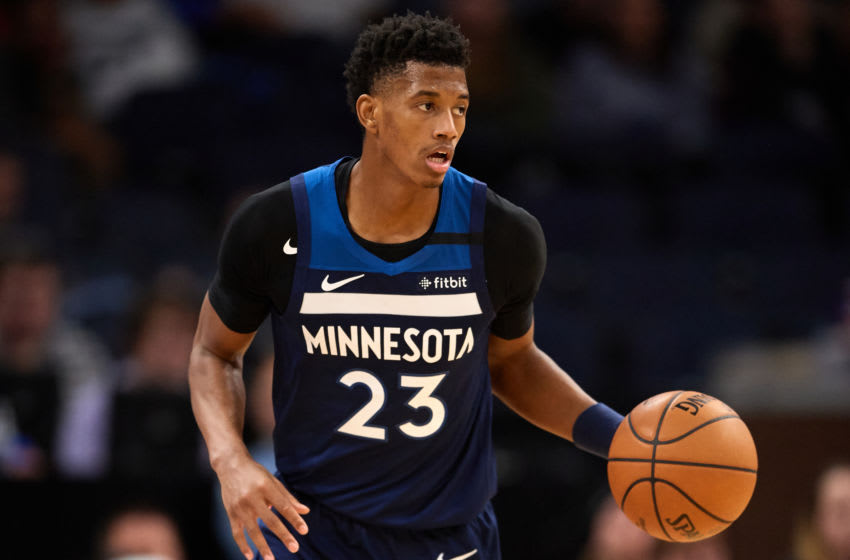 Jarrett Culver of the Minnesota Timberwolves. (Photo by Hannah Foslien/Getty Images)