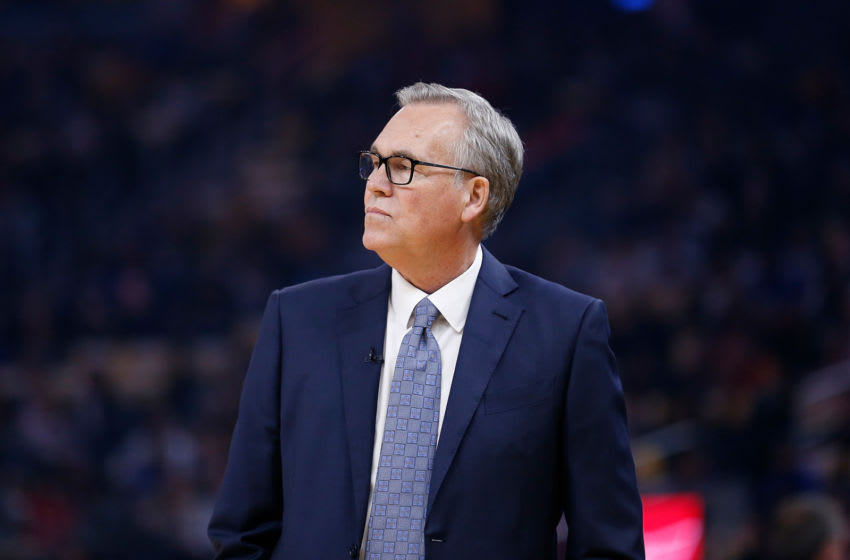SAN FRANCISCO, CALIFORNIA - FEBRUARY 20: Mike D'Antoni, head coach of the Houston Rockets. (Photo by Lachlan Cunningham/Getty Images)