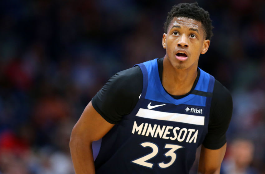 NEW ORLEANS, LOUISIANA - MARCH 03: Jarrett Culver #23 of the Minnesota Timberwolves. (Photo by Jonathan Bachman/Getty Images)