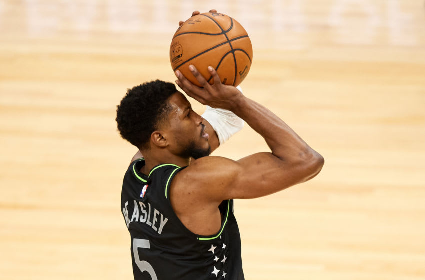 Malik Beasley of the Minnesota Timberwolves is off to a strong start to the season. (Photo by Hannah Foslien/Getty Images)