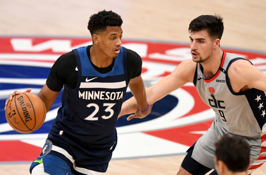 Jarrett Culver of the Minnesota Timberwolves. (Photo by Will Newton/Getty Images)
