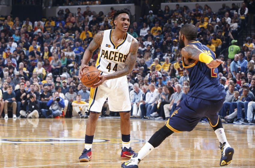 INDIANAPOLIS, IN - APRIL 23: Jeff Teague