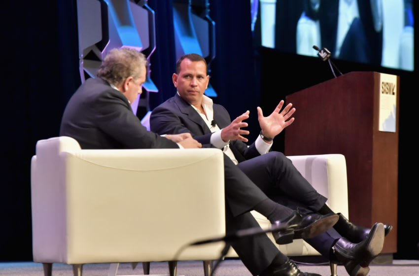 Former professional baseball player Alex Rodriguez is about to become the owner of the Minnesota Timberwolves. (Photo by Chris Saucedo/Getty Images for SXSW)
