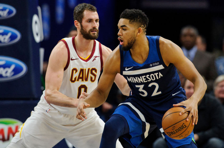 MINNEAPOLIS, MN - JANUARY 08: Kevin Love (Photo by Hannah Foslien/Getty Images)