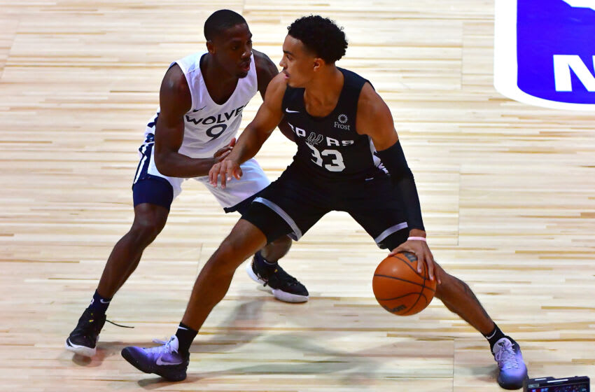 Isaiah Miller had a strong Las Vegas Summer League performance for the Minnesota Timberwolves and is now on a training camp deal with the Wolves. Mandatory Credit: Stephen R. Sylvanie-USA TODAY Sports
