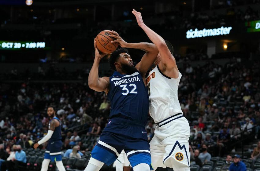 Karl-Anthony Towns, Minnesota Timberwolves Mandatory Credit: Ron Chenoy-USA TODAY Sports