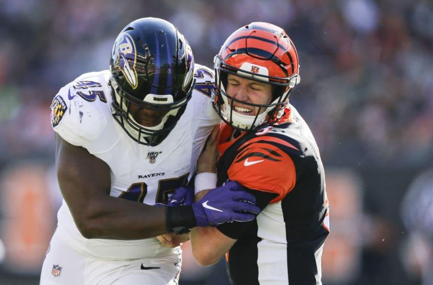 Jaylon Ferguson, Ravens (Photo by Silas Walker/Getty Images)