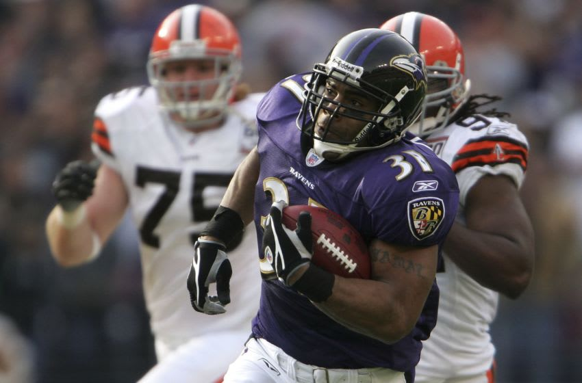 BALTIMORE - DECEMBER 17: Jamal Lewis