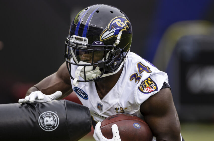 Ravens, Ty'Son Williams (Photo by Scott Taetsch/Getty Images)