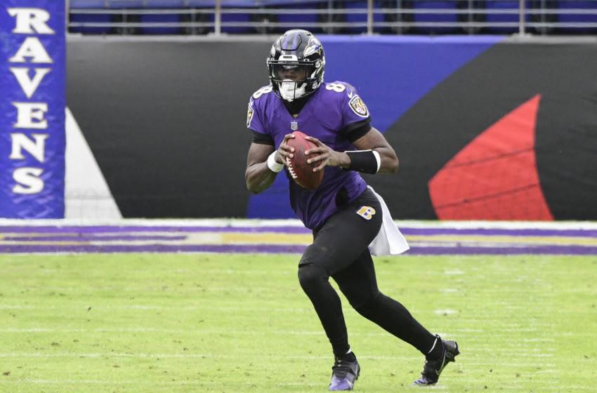 Ravens, Lamar Jackson Mandatory Credit: Tommy Gilligan-USA TODAY Sports