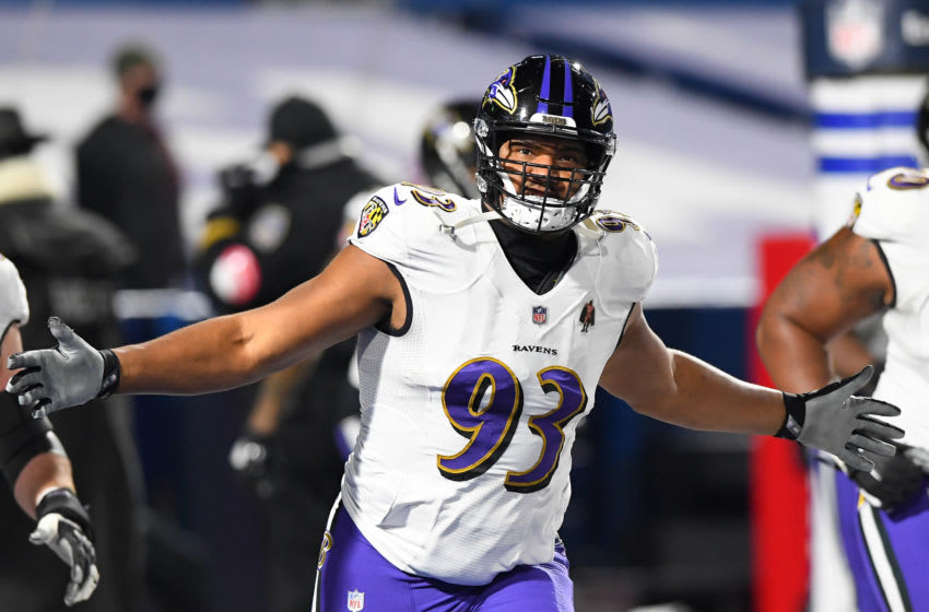 Ravens, Calais Campbell Mandatory Credit: Rich Barnes-USA TODAY Sports