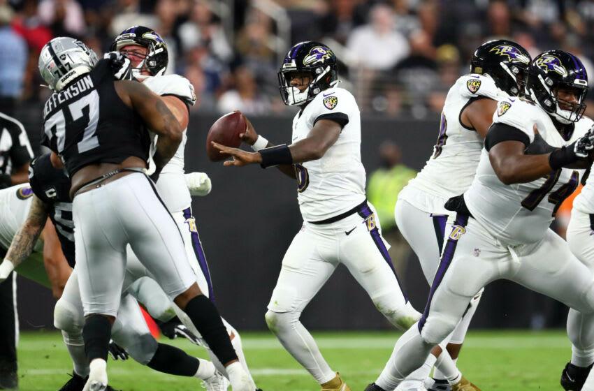 Ravens, Lamar Jackson Mandatory Credit: Mark J. Rebilas-USA TODAY Sports