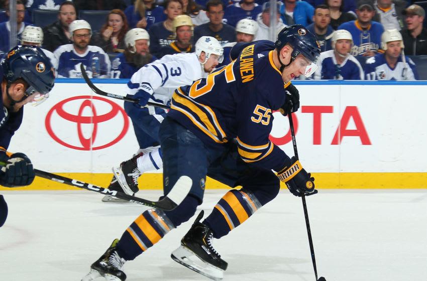 Toronto Maple Leafs - Rasmus Ristolainen of the Buffalo Sabres (Photo by Sara Schmidle/NHLI via Getty Images)