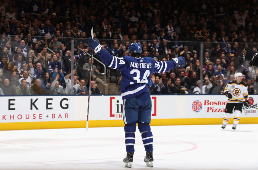 Auston Matthews, Toronto Maple Leafs (Photo by Bruce Bennett/Getty Images)