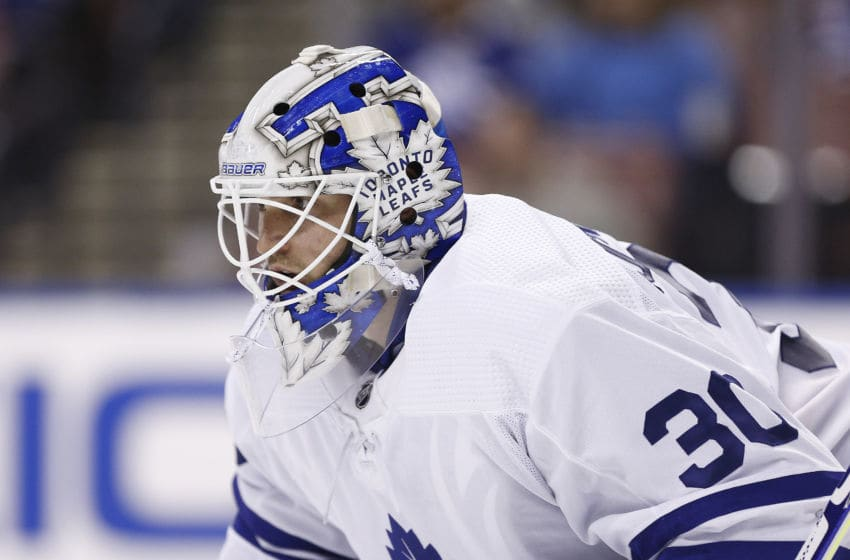 Toronto Maple Leafs - Michael Hutchinson (Photo by Michael Reaves/Getty Images)