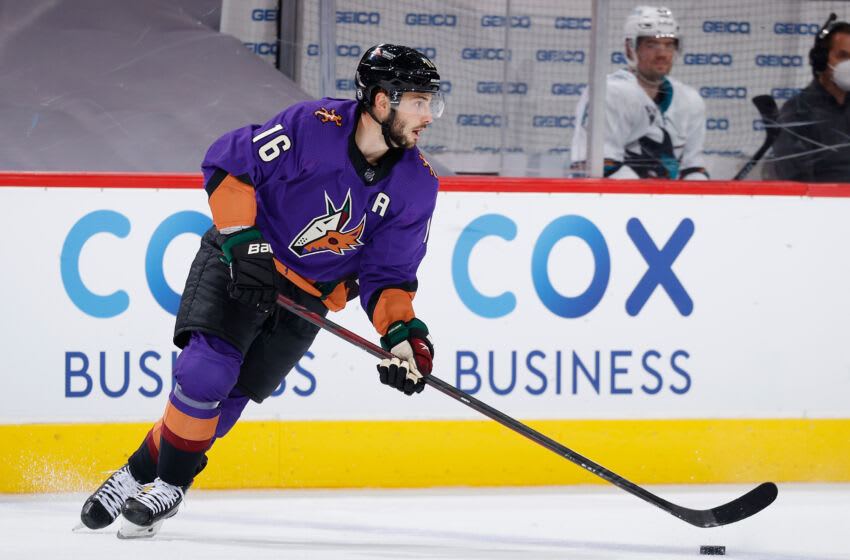 Derick Brassard #16 of the Arizona Coyotes (Photo by Christian Petersen/Getty Images)