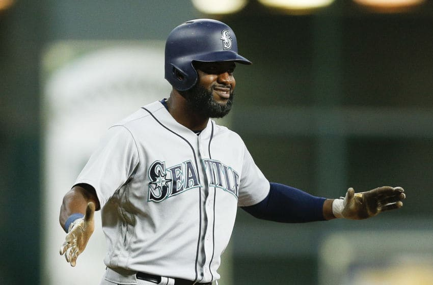 Denard Span, Seattle Mariners. (Photo by Bob Levey/Getty Images)